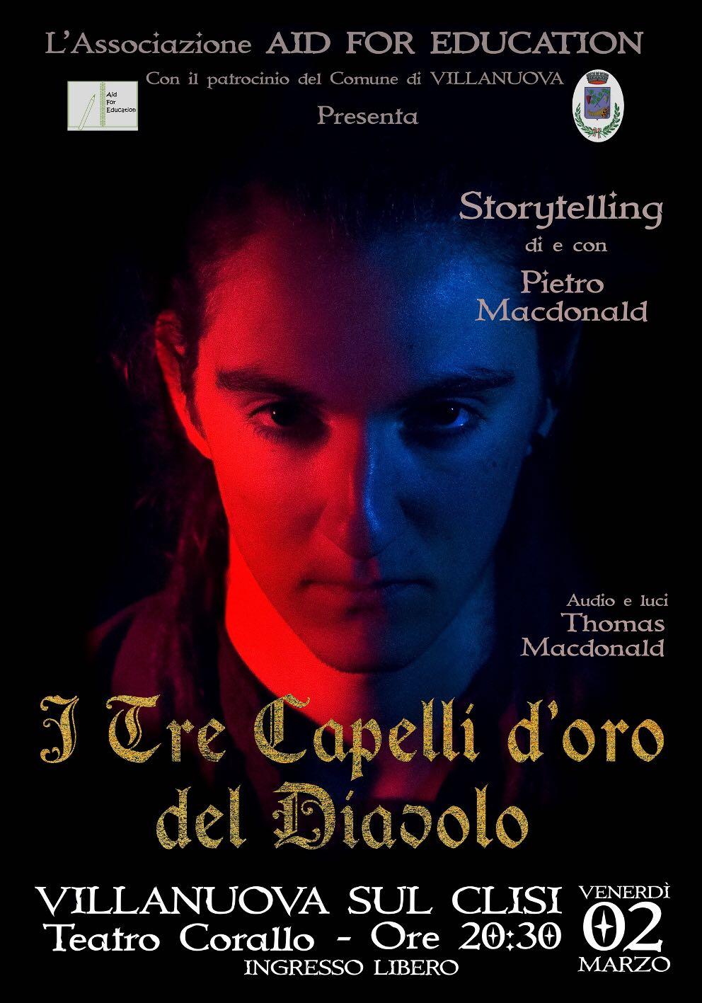 """Spettacolo Teatrali """"I Tre Capelli d'Oro del Diavolo"""""""