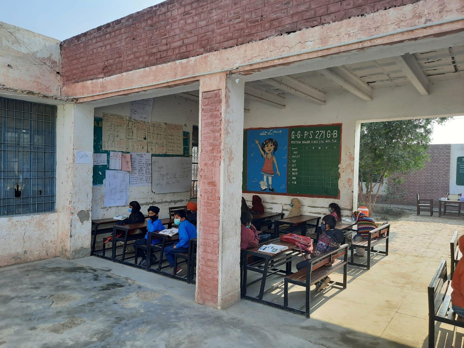 2021 Govt. Primary School 271GB, Toba Tek Singh, Pakistan